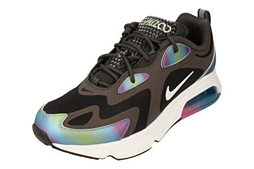 Nike Air Max 200 20 Mens Running Trainers CT5062 Sneakers Shoes (UK 8.5 US 9.5 EU 43, Dark Smoke Grey White Black 001)