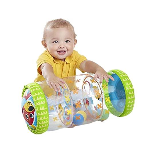 Patinete hinchable para recién nacidos, para entrenar de pie, juguete sensorial perfecto para el desarrollo temprano del centro del bebé