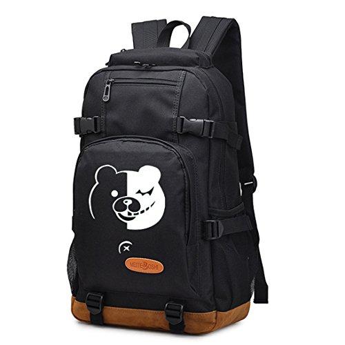 yoyoshome Luminous Anime Cosplay bolsa de College portátil mochila Bookbag Mochila Bolso de escuela