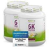 Mehrkomponenten Proteinpulver 2kg VANILLA ICE CREAM - laktosefreie Eiweißquelle 82,2% Eiweiß - Protein Pulver 1000g - Muskel-Shake Vanille Eiscreme Proteinkomplex - Eiweißpulver