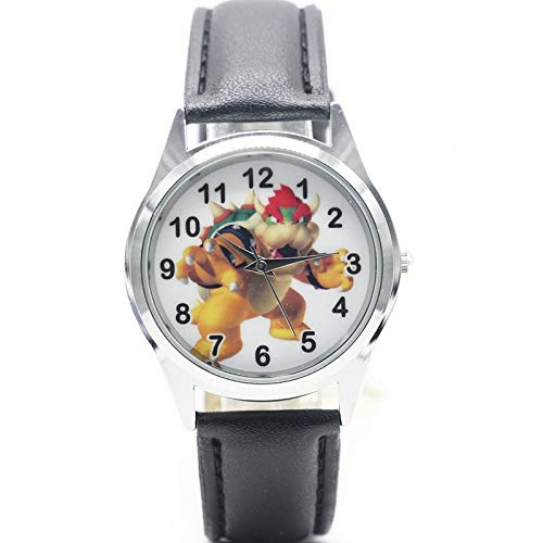 set pulidora uñas Super Mario Bowser Watch Quartz Kids Sports Fashion Cartoon Watch Reloj De Pulsera Boy Students Christmas Gift Watch