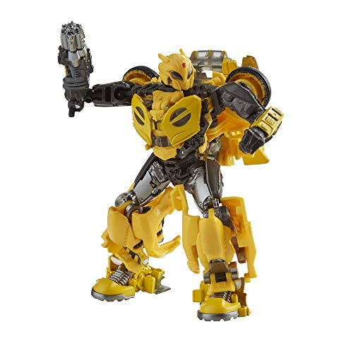 Transformers Toys Studio Series 70 Deluxe Bumblebee B-127 Actionfigur, 8 und h her, 11,4 cm