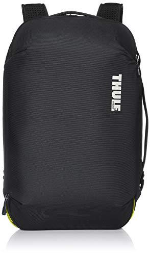 Thule Subterra Carry-On Duffel 40L Reisetasche (flexibel tragbar als Rucksack oder Schultertasche) Dark Shadow