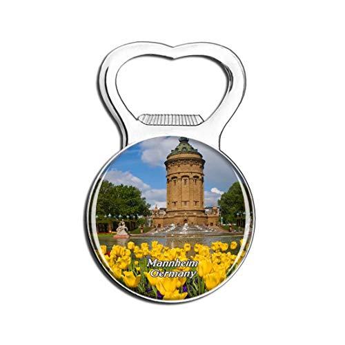 Weekino Mannheimer Wasserturm Deutschland Bier Flaschenöffner Kühlschrank Magnet Metall Souvenir Reise Gift