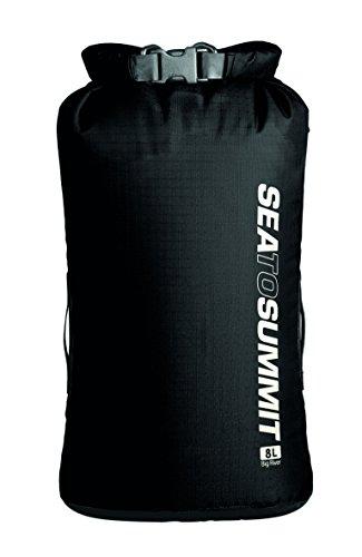 Sea to Summit Erwachsene Big River Drybag 8L, schwarz, Volumen 8 Liter, 420D Ripstop Nylon, TPU Laminat, Hypalon Schlaufen Packsäcke, Mehrfarbig, One Size