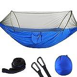 XHLLX Hamaca de Camping con mosquitera portátil portátil Vista rápida Cama para Dormir suspendida 250x120cm