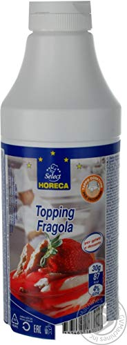 topping professionale gusto fragola ideale per decorare dessert e gelati 1 kg