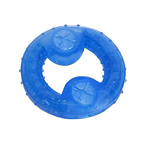 Gobesty Dog Bite Cooling Toy Leak Frozen Ball Toy, Ungiftig Geruchlos Sicher Gesund Soothes Puppy Teething Ice Toy In Summer (Donut)
