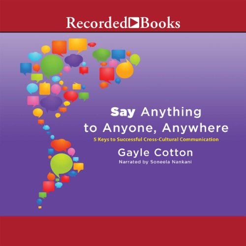 Say Anything to Anyone, Anywhere audiobook cover art