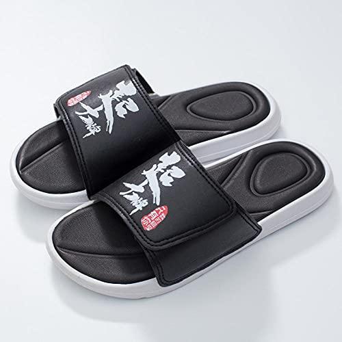 Yumanluo Chanclas Hombre Verano Zapatillas Flip Flops Sandal Zapatos de Playa y Piscina,Pareja de Sandalias de Playa y Zapatillas-N_35-36