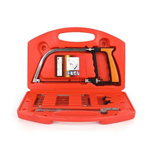 0 ℃ Outdoor Magic Handsaw Set, 12-in-1-Mehrzweck-Bügelsäge, Universal-Handsäge für HSS, Garten, Handwerk, Glas, Fliese, Holz, Metall, Kunststoff, Keramik