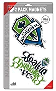 """Die-cut logos from 5"""" x 9"""" inch sheet Officially licensed product Made for indoor or outdoor use"""