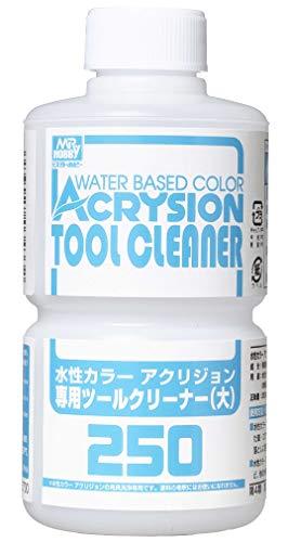 GSIクレオス T313 水性カラーアクリジョン専用ツールクリーナー (大) 250ml