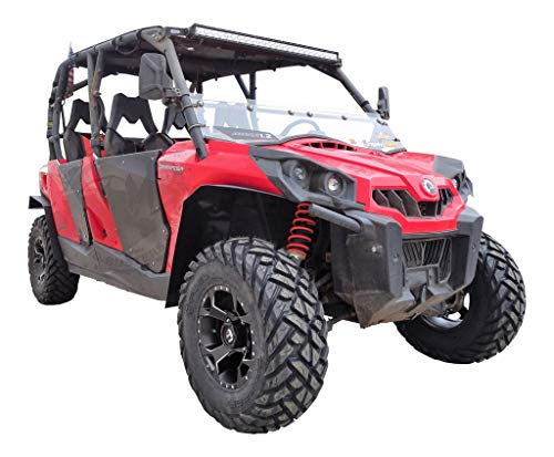 MudBusters Fender Flares for Can Am Commanders - Full Set (Standard Coverage)