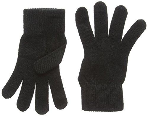 Adults magic stretch gloves in black. Ideal winter wear.