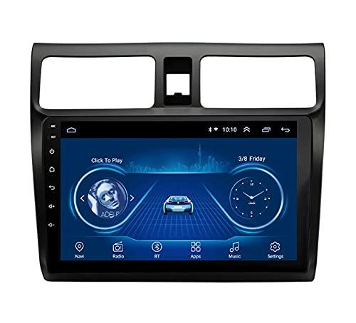Pantalla de 9 Pulgadas GPS estéreo para automóvil - Aplicable para Suzuki Swift 2004-2010, Navegación Auto Video Radio PlayerAudio Bluetooth Multimedia FM Car Media Digita Android,8core-WiFi: 2+32G
