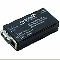 TRANSITION NETWORKS 10/100/1000 btx to 1000 blx sm sc 10km meida converter