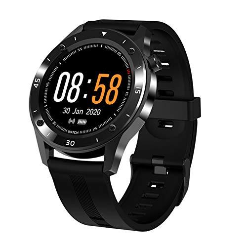 LXFMZ Smart Watch, Women Activity Step Monitor Sleep Monitor, Fitness Tracker con Watch Smart Watch Callorie Counter,Negro,13 * 47 * 265m