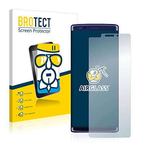 BROTECT Panzerglas Schutzfolie kompatibel mit Doogee Mix 2 - AirGlass, 9H Festigkeit, Anti-Fingerprint, HD-Clear