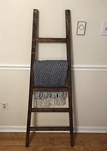 Blanket Ladder, Rustic Blanket Ladder, Ladder For Blankets, Quilt Rack, Blanket Rack, Wooden Decorative Ladder, Leaning Ladder