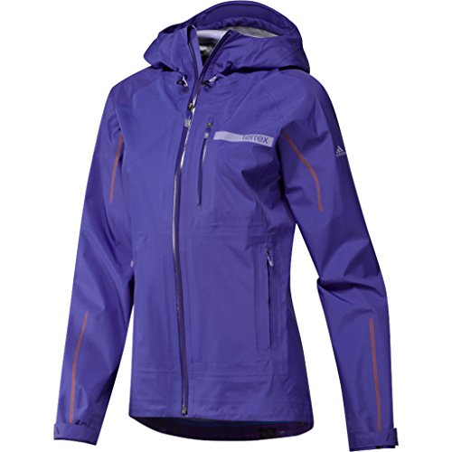 adidas Outdoor Women's Terrex Gore-Tex Active Shell 3 Jacket, Night Flash, X-Large