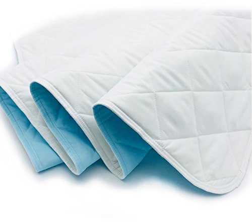 KANECH Bed Pads for Incontinence Washable – 34 x 52 Inches - Extra 5 Layer - Waterproof Pads for Adult,Children,Pets