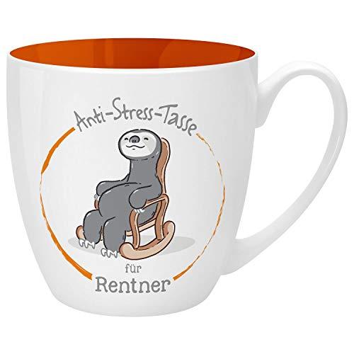 Gruss und Co 46263 Anti-Stress Tasse für Rentner, 45 cl, Geschenk