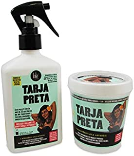 Kit Tarja Preta (Queratina Líquida + Máscara Restauradora) Lola Cosmetics Lola
