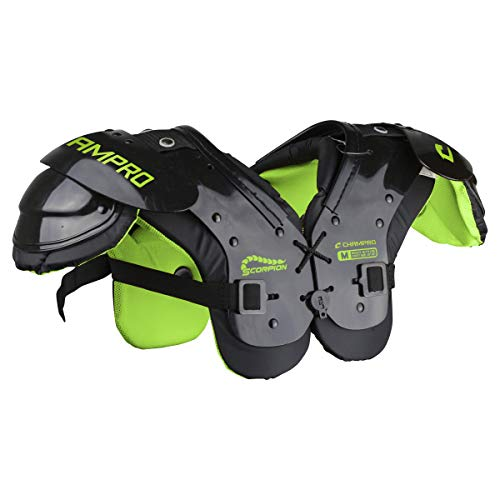 CHAMPRO Scorpion Youth Football Shoulder Pad, Colors Vary