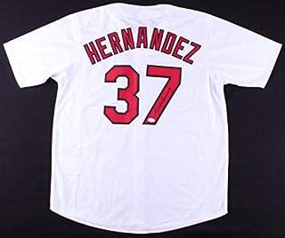 Keith Hernandez Autographed Signed St. Louis Cardinals Jersey (Size XL) JSA Authentic Memorabilia 1979 Nl Co-Mvp