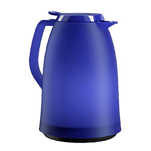Emsa Mambo 514506 Jarra Térmica, 1 L, Plástico, Azul Oscuro