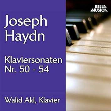 Haydn: Klaviersonaten No. 50 - 54