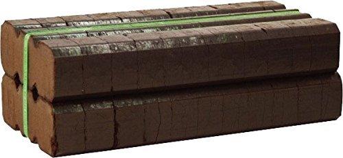 Bord Na Mona Irish Peat Briquettes (20-22 Fire Logs), Brown