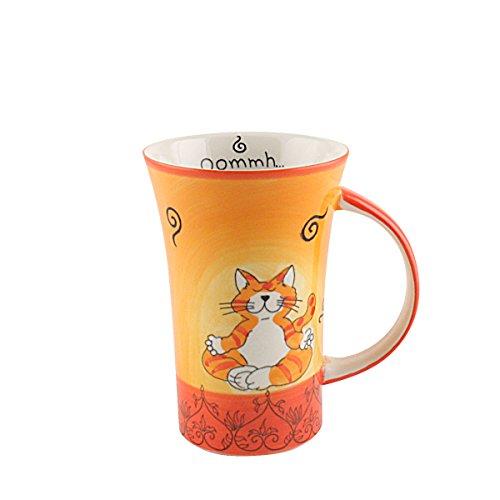 Mila Keramik-Becher, Coffee Pot, Oommh Katze | MI-82538 | 4045303825383