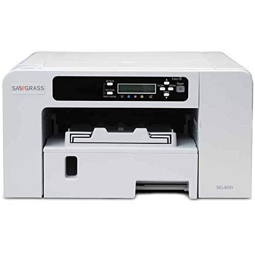 SAWGRASS VIRTUOSO SG400 sublimation printer. BUNDLE with complete set of Sawgrass Sublijet HD inks - and 110 SHEETS of our exclusive sublimation paper 'MADE IN JAPAN'