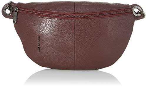 Mandarina Duck Damen Mellow Leather Bum Bag Kuriertasche, Violett (Vineyard Wine), 30x16x10 centimeters