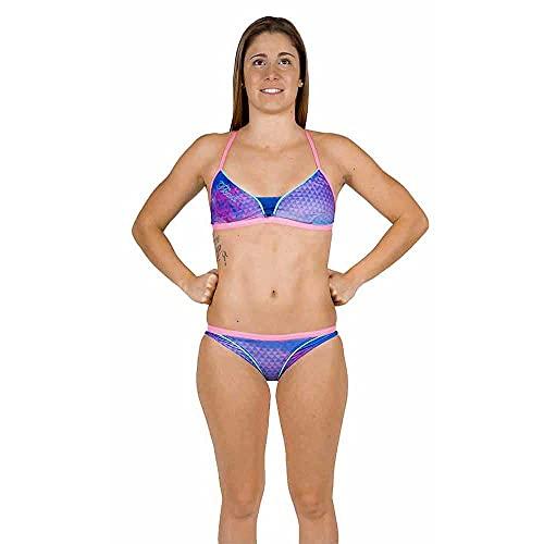 HEAD SWS Marble Bikini Pipe PBT–Badeanzug 34 Morado (PPLE)