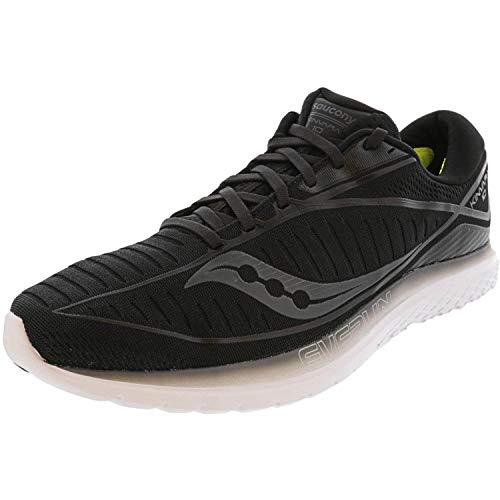 Saucony Men's S20467-5 Kinvara 10 Running Shoe, Black - 8 M US