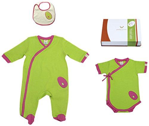 Pandi Panda 1302–007–09 Mic Mac Tapis D'éveil Pantalon avec chaussons intégrés Taille 74/80, 6–12 mois