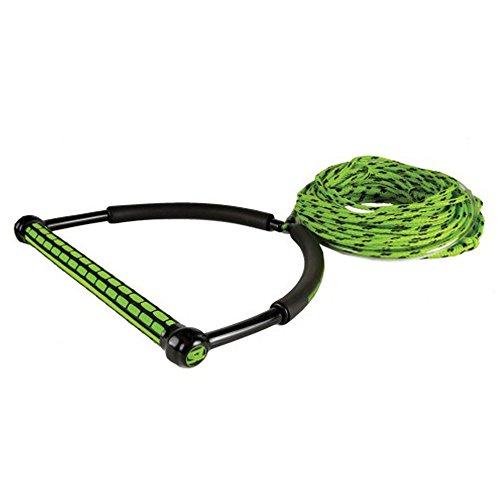 Straight Line Statische Wakeboard-Leine mit Griff grün