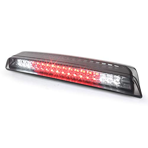 ACANII - FULL LED 3 브레이크 스톱 하이 마운트 센터 후방 지붕화물 빛 2004-2015 TITAN 2005-2014 국경 - 연기