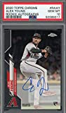 Alex Young 2020 Topps Chrome Rookie Autographs Baseball Card RC #RAAY Graded PSA 10 GEM MINT. rookie card picture