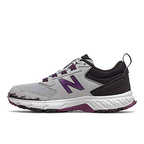 New Balance Womens 510 V5 Trail Running Shoe grey Size 85 Wide