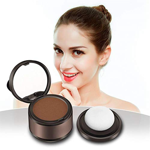 LASULEN Volume MAX Shading Powder for Hair Waterproof, Hairline Shadow Powder, Hairline Powder, Hair Line Makeup Concealer, Magical Fluffy Thin Hair Powder, Instant MAX Volumizing Cover Up Powder