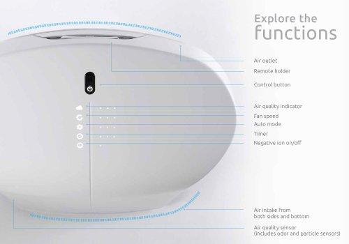 Rabbit Air BioGS 2.0 Ultra Quiet HEPA Air Purifier (SPA-550A White)