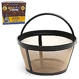 GOLDTONE Reusable 8-12 Cup Basket Coffee...