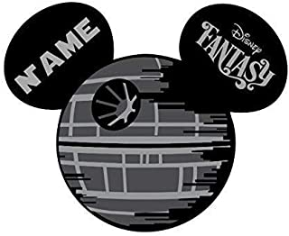 LARGE Personalized Disney Death Star Star Wars Inspired Magnet for Disney Cruise. Disney Cruise Door Magnet. Star Wars Death Star Customized Family Magnet