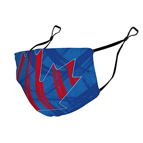 Vintage Red Canada Maple Leaves Blue Canada Flag Dustproof, Comfortable, Washable and Reusable, Unisex Breathing Cover.