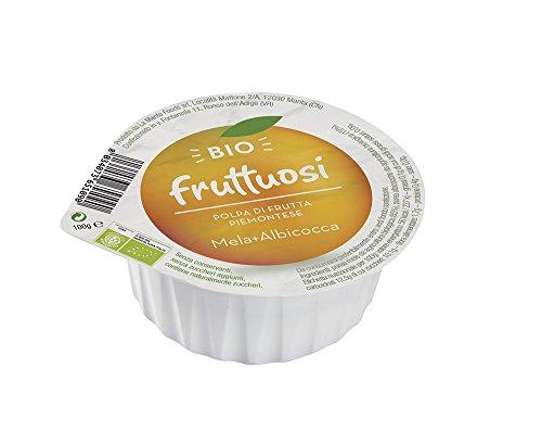 Fruttuosi Polpa di Mela, Albicocca Piemontese - 100 gr