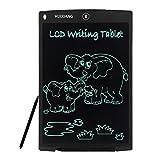 HUIXIANG Tablette D'écriture LCD Ardoises Numériques eWriters Electronique Planche à Ecriture Griffonnage Pad Cadeau de Noël pour Enfants Garçons Filles Dessin et Scolaire Étudiant 12 Pouces (Noir)
